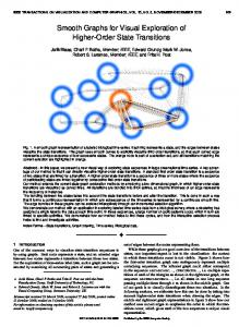 Smooth Graphs for Visual Exploration of Higher-Order ... - IEEE Xplore