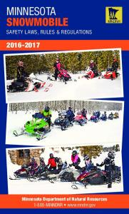 Snowmobile Regulations