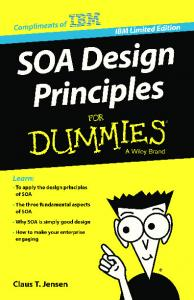SOA Design Principles For Dummies, IBM Limited Edition