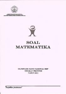 SOAL MATEMATIKA - WordPress.com