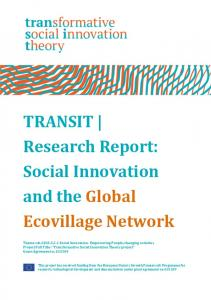 Social Innovation and the Global Ecovillage Network - TRANSIT social ...