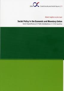 Social Policy in the Economic and Monetary Union - Helda