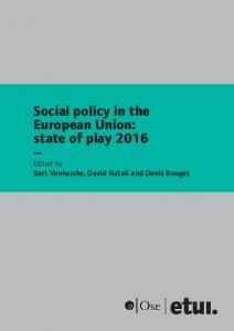 Social policy in the European Union: state of play 2016