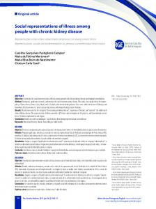 Social representations of illness among people with chronic kidney ...