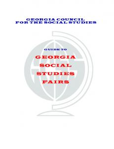 Social Studies Fair Guide