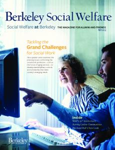 Social Welfare at Berkeley