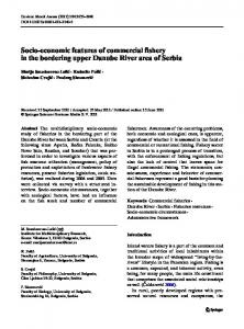 Socio-economic features of commercial fishery in the ... - Springer Link