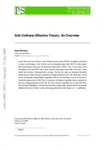 Soft Collinear Effective Theory: An Overview
