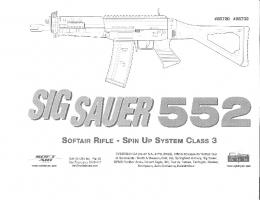 softair rifle - spin up system class 3 - Universo Sniper Airsoft