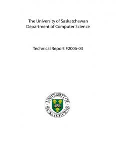 SoftSphere - Department of Computer Science - University of ...