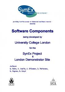 Software Components - UCL Discovery