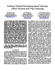 Software Defined Networking-based Vehicular Adhoc Network ... - Core