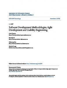 Software Development Methodologies, Agile Development and ...