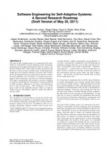 Software Engineering for Self-Adaptive Systems: A ... - Semantic Scholar