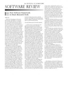 software review - The University of Texas at Austin