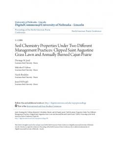 Soil Chemistry Properties Under Two Different ... - Semantic Scholar