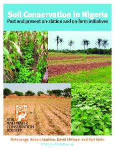 Soil Conservation in Nigeria - Soil and Water Conservation Society