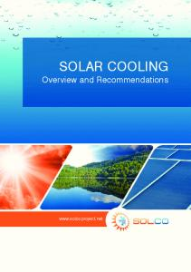 solar cooling