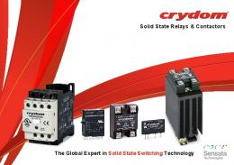 Solid State Relays # Solid State Control Relays # I/O ... - Crydom