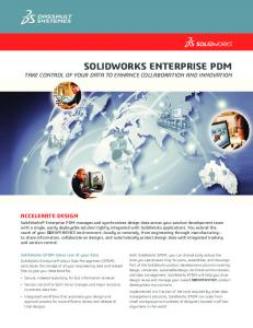 SolidWorks EPDM White Paper