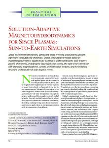 solution-adaptive magnetohydrodynamics for ... | EECS @ Michigan
