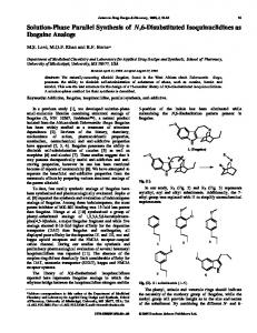 Solution-Phase Parallel Synthesis of N,6-Disubstituted ... - Puzzle Piece!