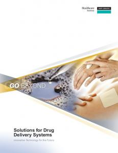 Solutions for Drug Delivery Systems - Dow Corning