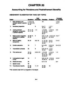 SOLUTIONS TO CHAPTER 20 Lecture Notes Page - Cccd