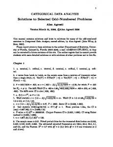 Solutions to Selected Odd-Numbered Problems - Department of ...