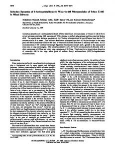Solvation Dynamics of 4-Aminophthalimide in Water - ACS Publications