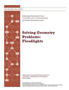 Solving Geometry Problems: Floodlights