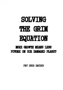 solving the grim equation