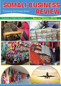 somali business review - SIMAD University