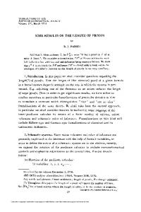 some results on the length of proofs - American Mathematical Society