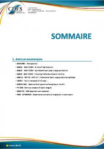 sommaire | ResearchGate