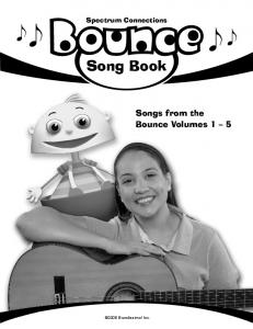 Song Book - Bounce!