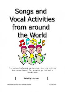 Songs and Vocal activities