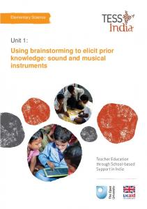 sound and musical instruments - TESS-India