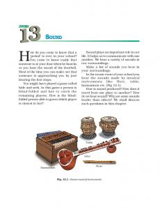 SOUND SOUND - NCERT BOOKS and CBSE BOOKS