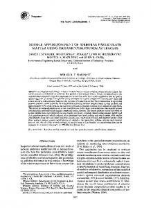 source apportionment of airborne particulate matter using ... - CiteSeerX