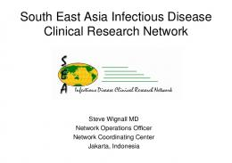 South East Asia Infectious Disease Clinical Research Network