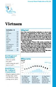 South East Asia - Vietnam - Lonely Planet