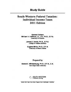 South-Western Federal Taxation - Cengage Learning