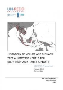 southeast asia: 2018 update