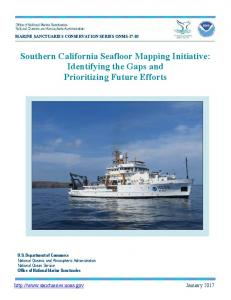 Southern California Seafloor Mapping Initiative - NOAA National ...