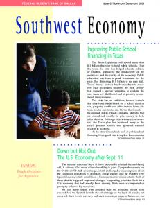 Southwest Economy - Federal Reserve Bank of Dallas