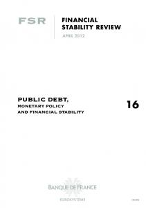 Sovereign creditworthiness and financial stability: an international ...