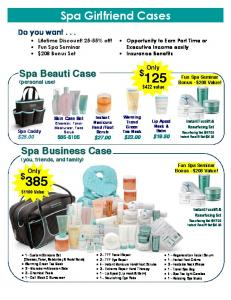 Spa Girlfriend Cases - Kathy Maples Executive Team