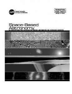 Space Based Astronomy Educator Guide pdf - NASA