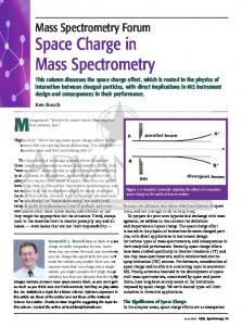 Space Charge in Mass Spectrometry